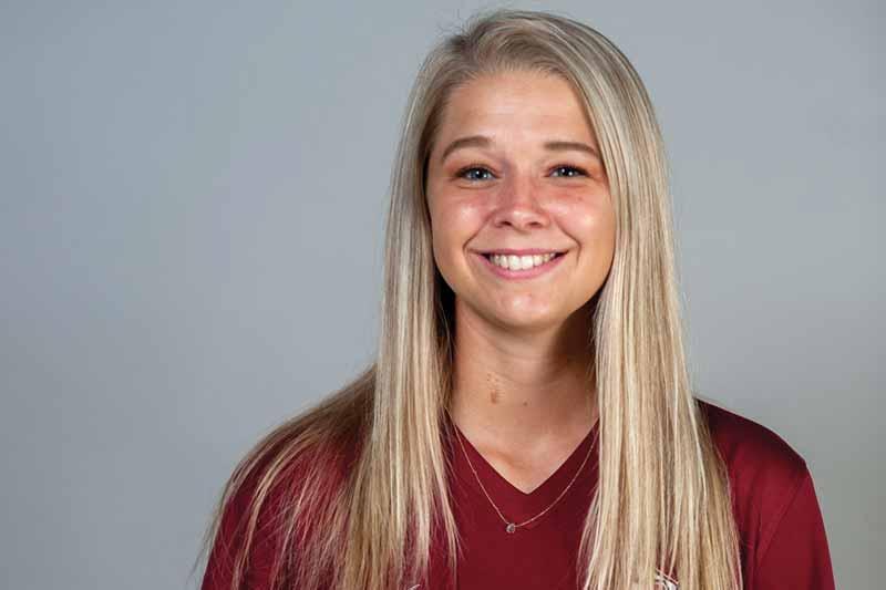 Meredith student-athlete Madison Gladwell