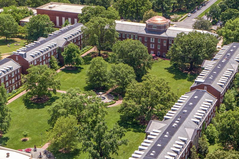 Meredith College Arial