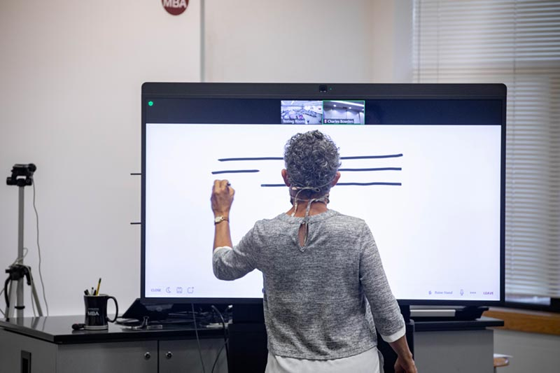 Zoom Board - Hybrid Classroom