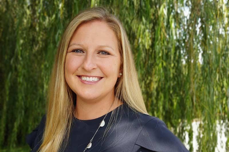 Amanda Browning smiling in black shirt
