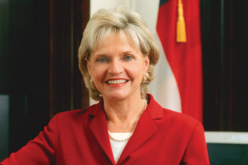 Beverly Perdue, the first woman to serve as governor of North Carolina