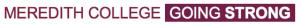 Meredith College Going Strong UG