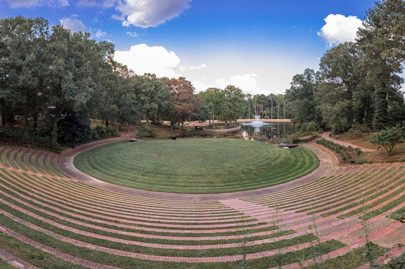 Meredith Amphitheater and Lake